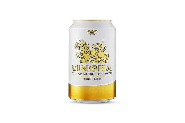 SINGHA LAGER BEER CANS 49cl